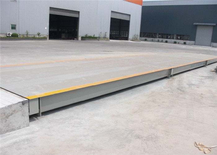 Data Transmission 100 Ton Weighbridge Power Consumption 12V DC Digital Display