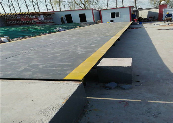 Modular Truck Weighbridge IP68 Sensor Protection Long Term Stability